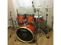 Fully Refurbished Mapex M Series Drum Kit (Amber Lacquer)