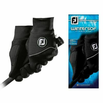 NEW FOOTJOY WINTERSOF COLD WEATHER GOLF GLOVES - PAIR - CHOOSE GENDER & SIZE Footjoy Wintersof Golf Glove