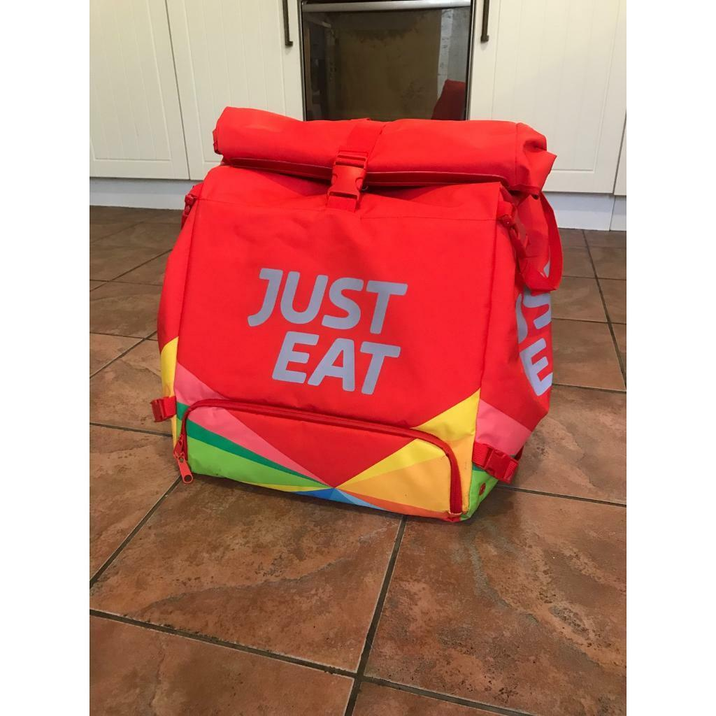 Just Eat Thermal Food Delivery Bag Backpack Uber Deliveroo Etc In York North Yorkshire Gumtree