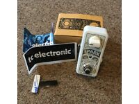 New! TC Electronic Spark mini boost pedal, for guitar or bass