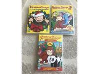 Three children's DVDS