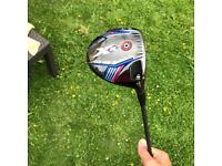 Callaway Xr driver pro and 3 wood