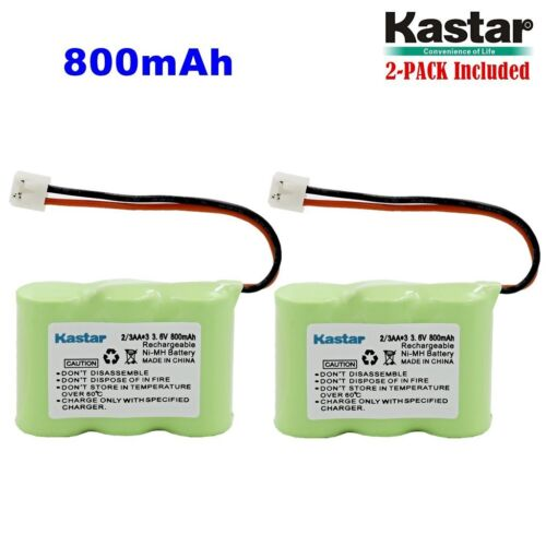 2 x 2/3AA 3.6V 800mAh EH Ni-MH Battery for AT&T 2422 80-5074-00-00 Lucent 2422