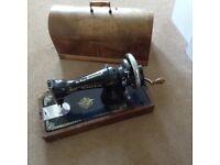 Singer antique hand sewing machine