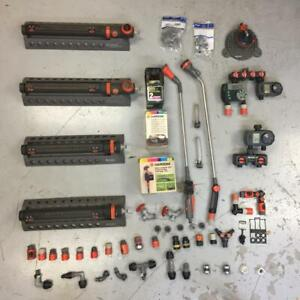 Lot of Gardena Garden Tools Water Timers Sprinklers and More