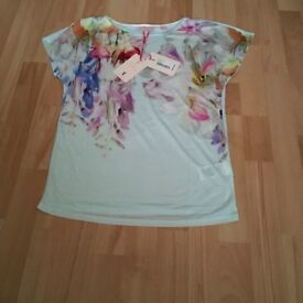Ted Baker hanging gardens top size 0