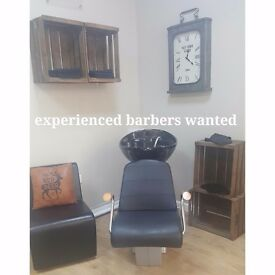 Self Employed Barbers Wanted