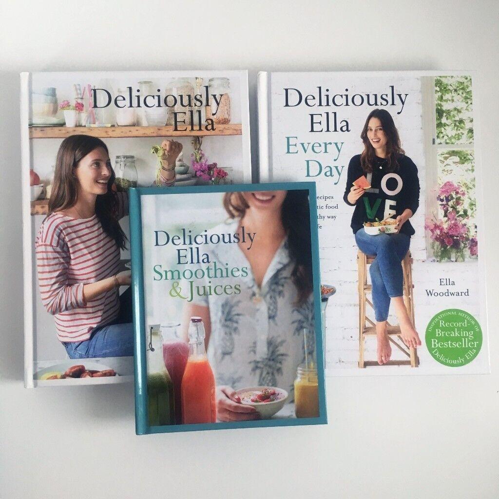 f9335edee91c5 3 x Deliciously Ella Books - great condition