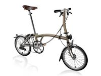 Brompton S2L 2015 Folding Bike and Bag *Brand new & Unused*
