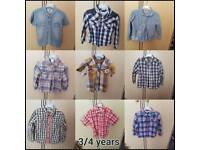 Boys clothes bundle age 3/4 Years