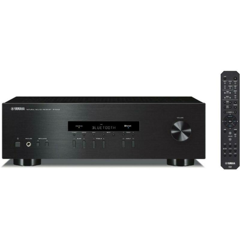 Yamaha R-S202BL Stereo Receiver w/ Bluetooth ( RS202BL )- NO REMOTE