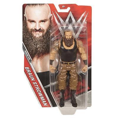 Braun Strowman Basic 75 Wwe Mattel Action Figure Toy New   Mint Packaging