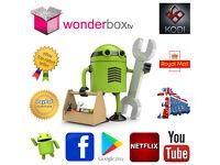 KODI v16.1 Jarvis Android TV Box / Tablet Install Upgrade Repair, Movies Live TV