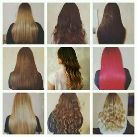 **Gem's Hair Extensions**Nano rings Fusion Bonding, flat locks micro ring** based in Solihull