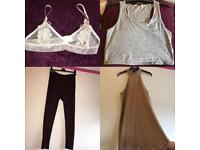 Women's clothing size 8 - 10 - 12 & 14. Size 5 trainers