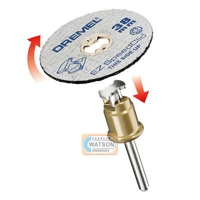 Dremel Multi Tool Accessories Sc456b S456b 12x Speedclic Metal Cutting Wheels