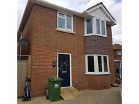Brand new 4 detached house in southampton finished to a high standard