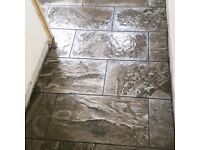 Wall and floor tiler available for work in the Scottish Borders, Northumbria and East Lothian.