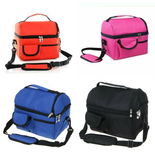 Insulated Lunch Bag For Men Women Kids Thermos Cooler Adults
