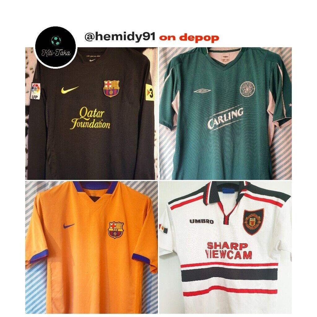 Retro Football Shirts for sale  2e2357cc5