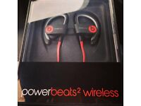 Beats by Dre Powerbeats 2 Wireless Black headphones / earphones