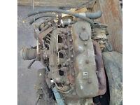 Toyota B 3000cc diesel engine and gearbox. Toyota Dyna BU20/BU30 Landcruiser BJ40