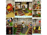 18 disney grolier decorations in boxs