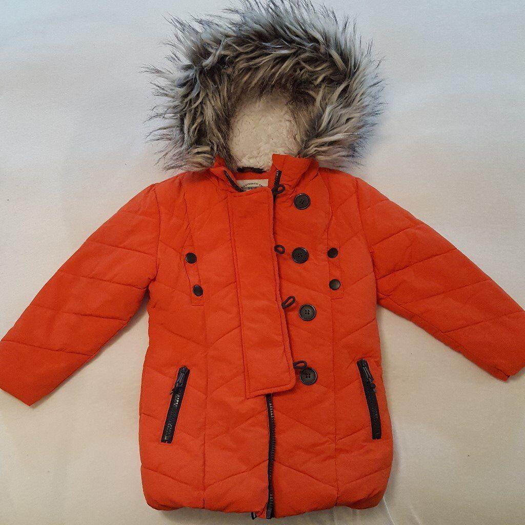 4-5 yers girls Next winter jacket