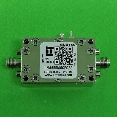 Low Noise Amplifier 0.9db Nf 600m 6ghz 39db Gain 19dbm P1db - 2 Stage