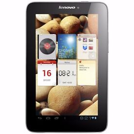 """Manufacturer Refurbished Lenovo IdeaTab Tablet A2107A 7"""" Android 1GB 16GB Was: £149.99"""