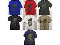Mens the north face tshirts t-shirts