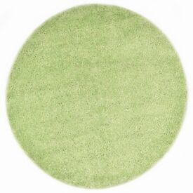 Shaggy Area Rug 160 cm Green-285052