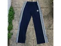 Adidas tracksuit bottoms joggers size 12