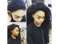 AFRO HAIRDRESSER/SALON , LACE FRONTAL , VIXEN WEAVE , 360 CLOSURE ,SILK PRESS ,STRATFORD , LONDON
