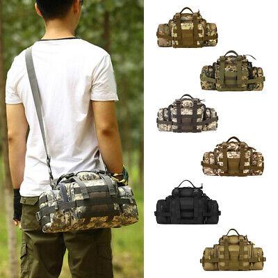 Tactical Assault Gear Sling Shoulder Pack Range Bag Hiking Fanny Waist Pack ()