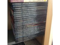 Collection of 22 individually boxed classical music cd,s , as new and hardly played .