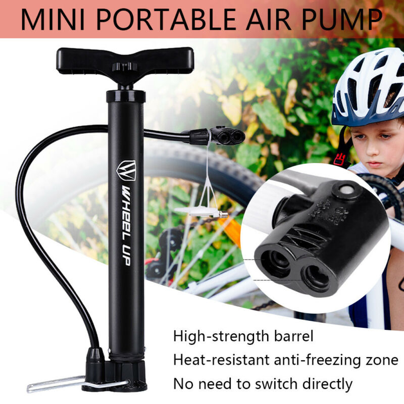 Mini Bike Pump Portable Bicycle Tire Pump Mini Bike Floor Pump Hand Foot