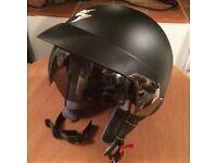 Scorpion Exo 100 Women's Helmet, Black Matt size Small