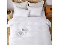 New in packaging - White double bedding set