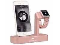 iVAPO 2 in 1 Apple Watch & iPhone Charging Station BNIB