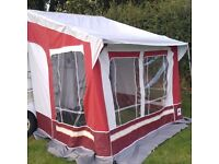 CARAVAN AWNING TO FIT CARAVAN HIEGHT OF 235CM TO 250CM