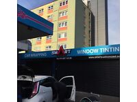 window tinting east London
