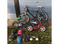 2-6 year old boys bikes & Men's mountain bike
