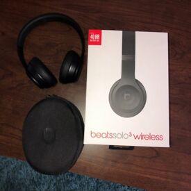 Beats solo 3 wireless matte black