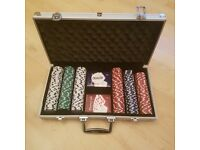Poker set. Great set, in excellent condition!