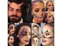 Halloween Beauty Makeups Fully Qualified Sfx Makeup Artist Watford London