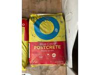 4 Bags Of Postcrete