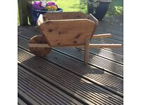 New wooden Garden Wheelbarrow