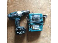 Quick Sell - Offers Welcome -Makita Combi Drill - bhp451, Battery li-ion -18v, 3.0Ah and Charger