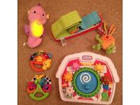 Baby toys, fisher price, little tikes